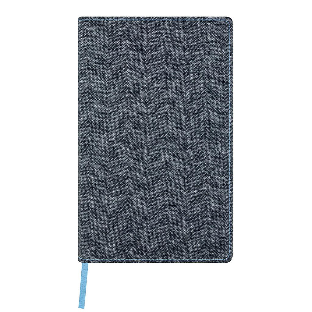 QC6-NOTEBOOK HARRIS D9-389-SLATE BLUE