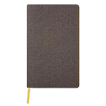 QC4-NOTEBOOK HARRIS D9-384-TOBACCO BROWN