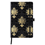 QC3-Notebook Castelli Milano / Copper&Gold / NR-464-Baroque Gold